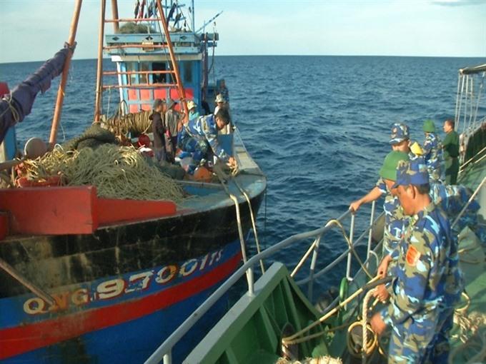 Quảng Ngãi tightens control of illegal fishing