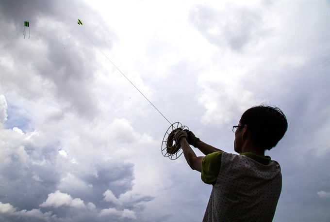 Through the lens: Kites beautify the sky at Đầm Sen Park