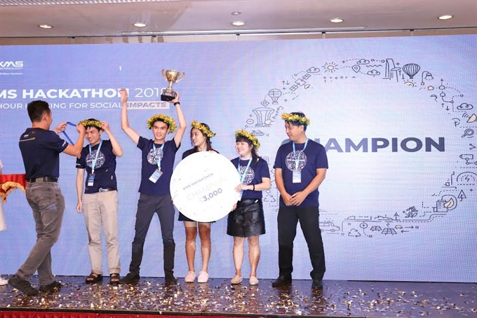 Career consultant chatbot wins HCM City programming contest