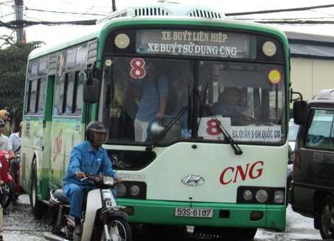 HCM City plan to introduce CNG buses faces delays