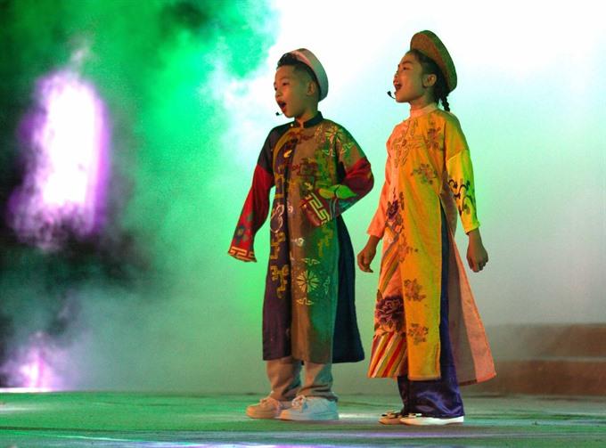 Huế holds festival for 2000 children nationwide