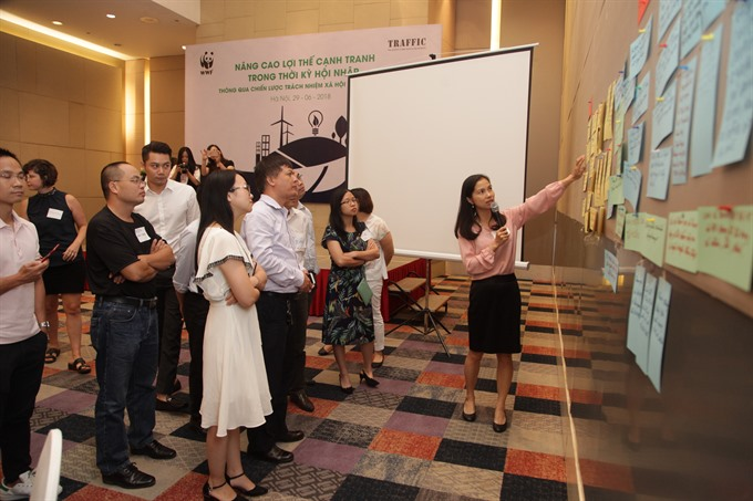 Companies learn how to adopt zero-tolerance policy on wildlife crime