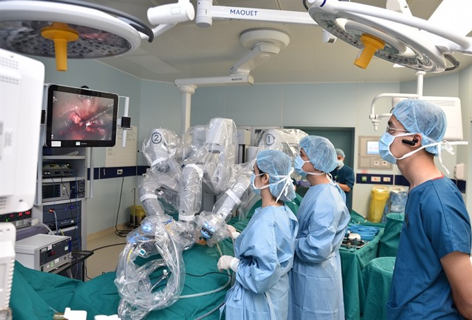 First private robotic surgery centre opened in Hà Nội