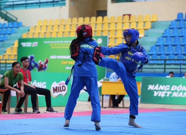 Students martial art championships held in Huế