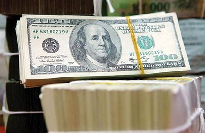 Dollar appreciates sharply against the đồng after SBV stops intervention