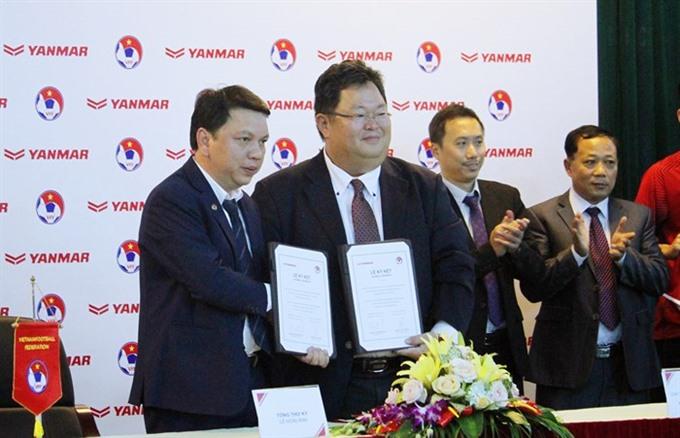 Yanmar renews national team sponsorship