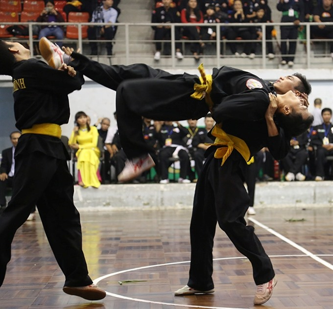 International Martial Arts Fest starts in HCM City