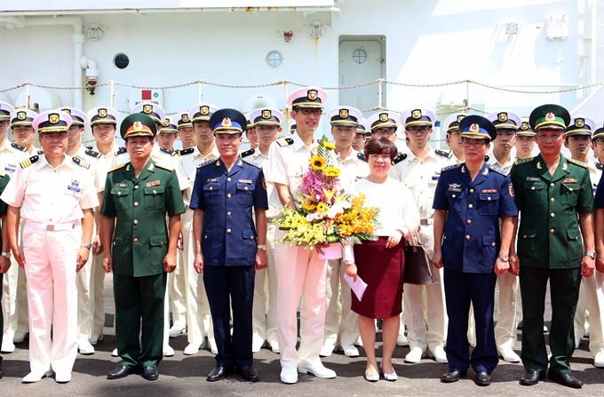 Japan Coast Guard ship visits Đà Nẵng
