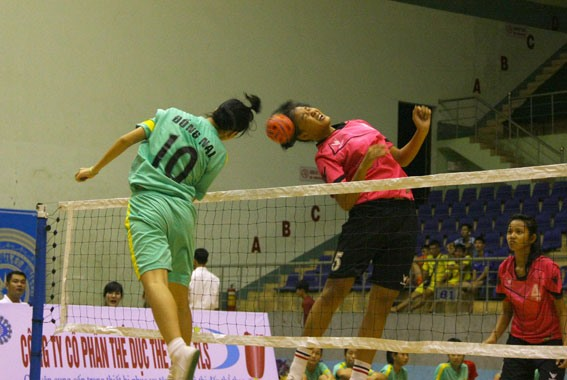 Hà Nội triumph at national youth sepak takraw champs