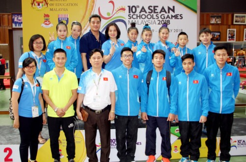 Vietnamese youngsters claim six golds at ASEAN Schools Games