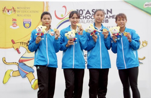 Việt Nam gain one more gold at ASEAN Schools Games