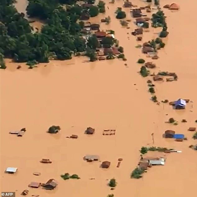 S. Korea firm says Laos dam damage found day before collapse
