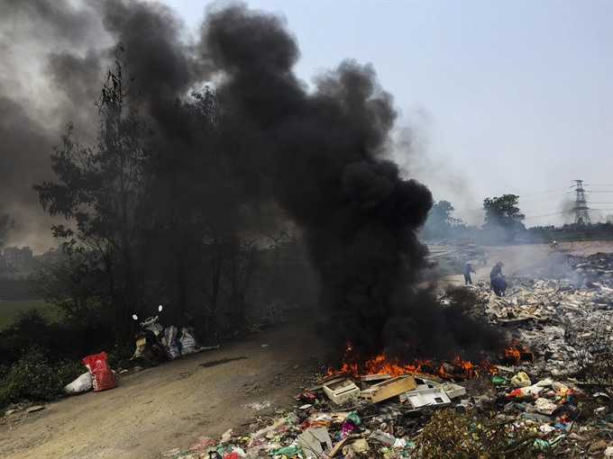 Open burning of waste comes into the spotlight