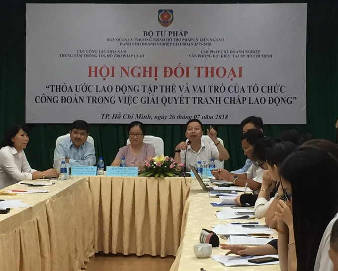 Workshop underlines importance of collective bargaining