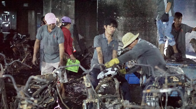 Short circuit cause of fire at Carina Plaza in March