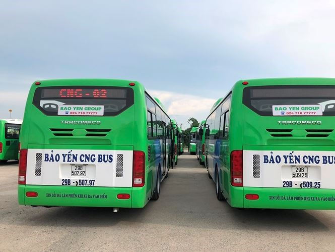 Eco-friendly bus to start running in in Hà Nội