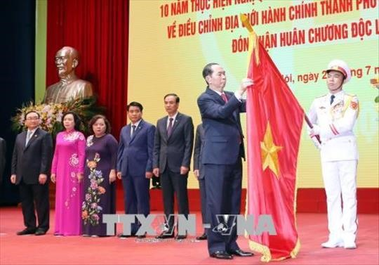 Hà Nội celebrates 10 years of administrative boundary adjustment