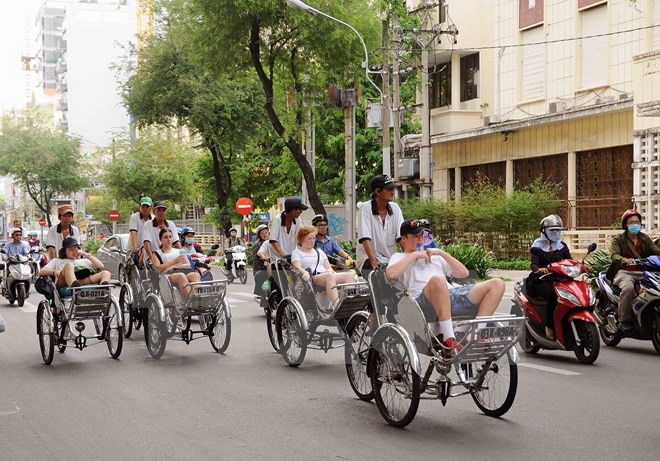 Average tourist spending in HCMC at 145