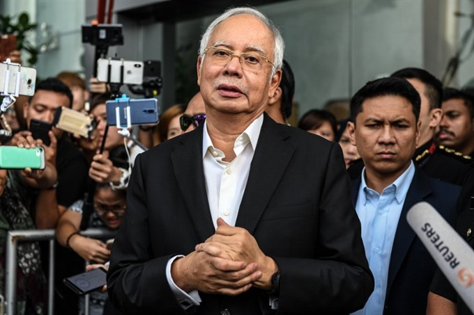 Former Malaysian PM Najib arrested over huge graft probe