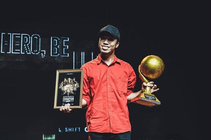 Vietnamese beatboxer wins Asian Beatbox Championship