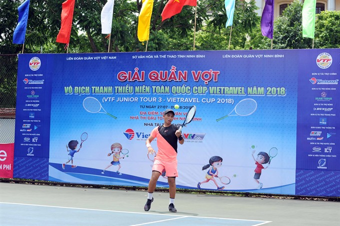 Top seeds progress at VTFJunior Tour event