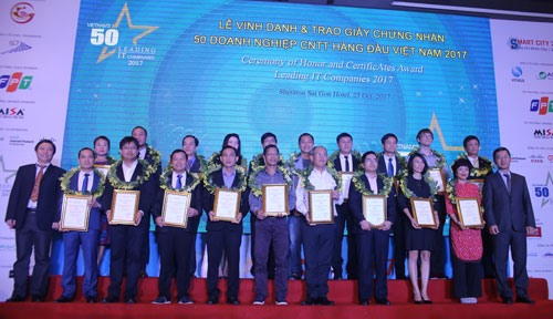 Việt Nams 50 Leading IT Companies 2018 programme launched