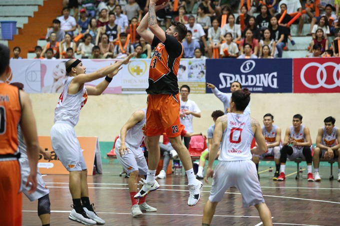 Saigon Heat defeats Danang Dragons