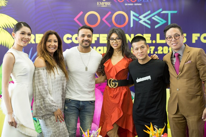 Luis Fonsi to wow crowd at CocoFest