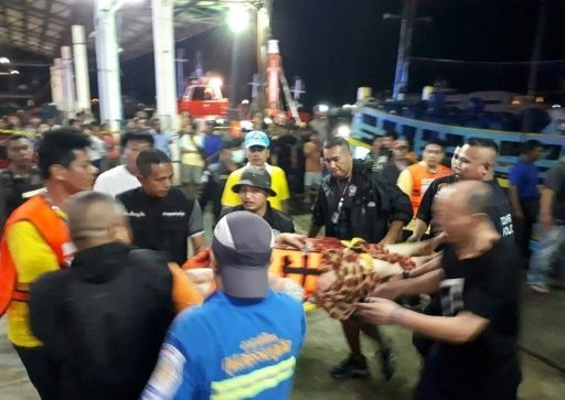 Divers to check sunken Thai boat for Chinese tourists: governor