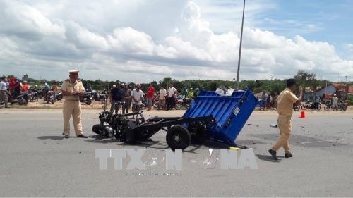 Three wheel driver blamed for deadly accident