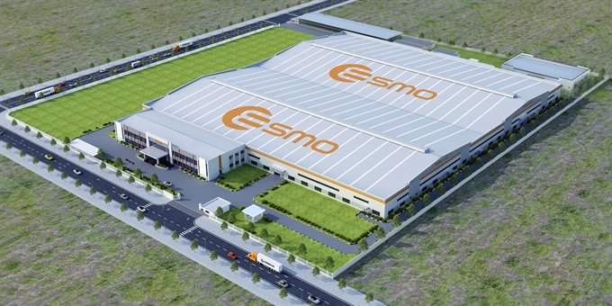 ESMO starts construction of the first wiring harness facility in Việt Nam
