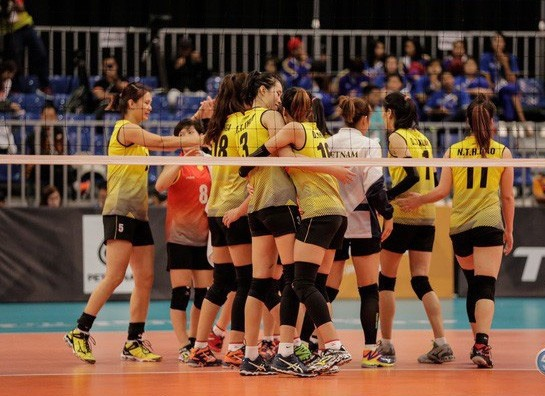 National womens volleyball team prepares for Asian Games