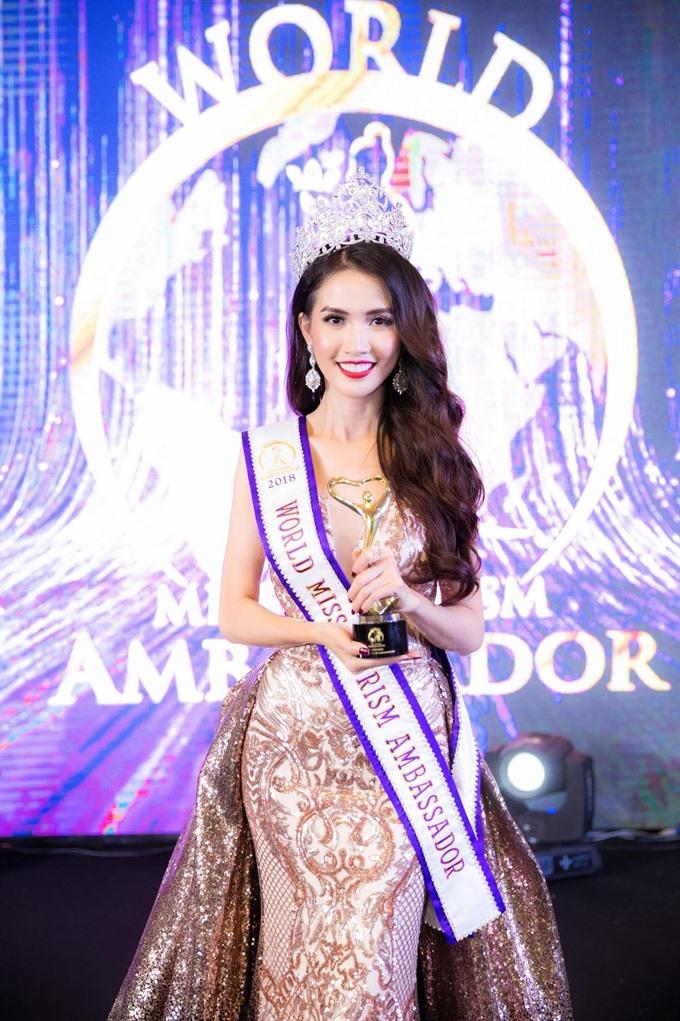 Miss Việt Nam crowned World Miss Tourism Ambassador 2018