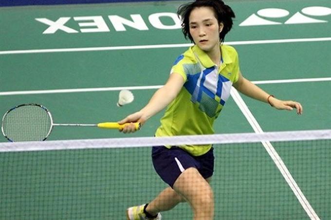Minh and Trang enter Việt Nam Open's quarter-finals