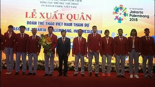 Vietnamese athletes set to take off for ASIAD 2018