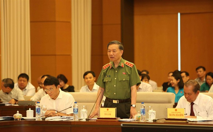 Minister Lâm said no restricted zone in handling wrongdoings