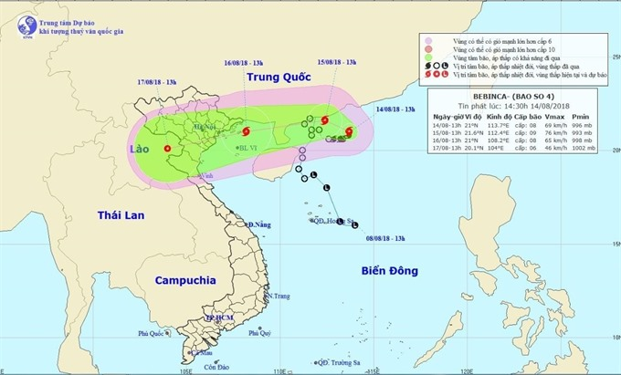 Northern provinces brace for fourth typhoon of year