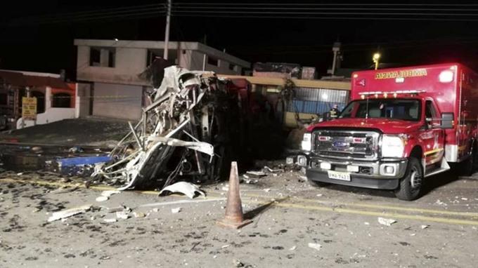 Bus accident in Ecuador kills 24 injures 22