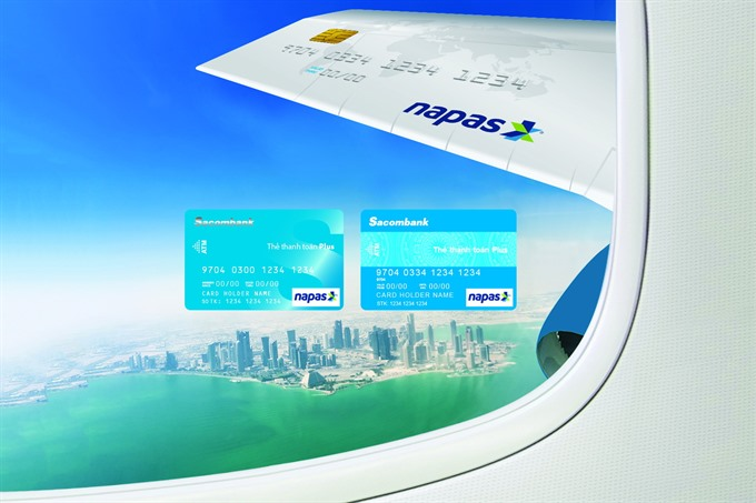 Vietnam Airlines ties up with Sacombank Napas for discount