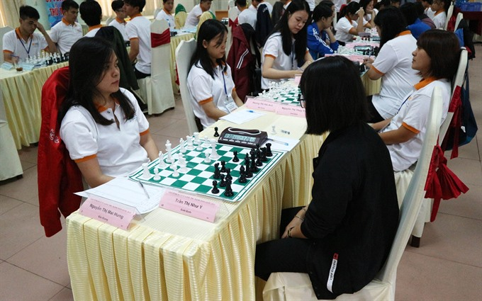 National Chess Tourney 2018 kicks off in Bắc Giang