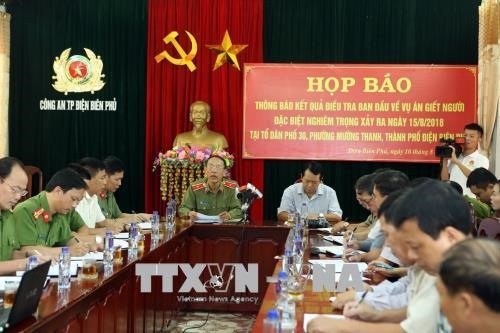 Police start official investigation after man murders 2 kills himself in Điện Biên