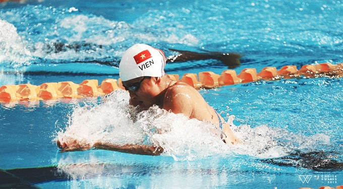 Viên aims to make a splash at ASIAD