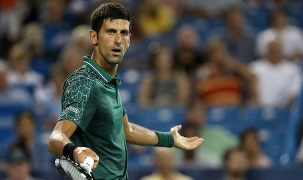 Djokovic overcomes stomach trouble as Zverev exits in Cincy