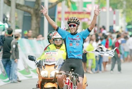 Nieto wins sixth stage of Gạo Hạt Ngọc Trời An Giang Cup 2018