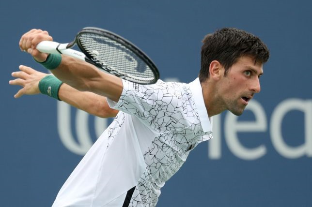 Rain slows Djokovic in Cincy Stephens ousted