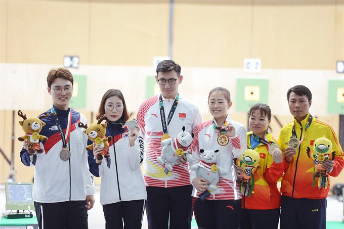 Việt Nam win two bronze medals at ASIAD