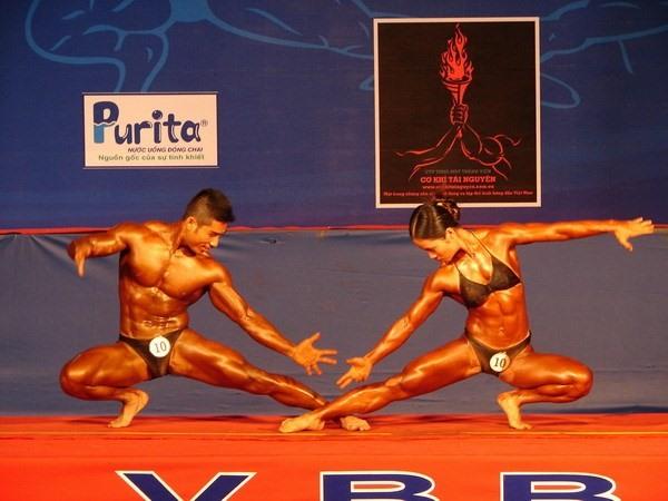 National bodybuilding champs closes in Cà Mau