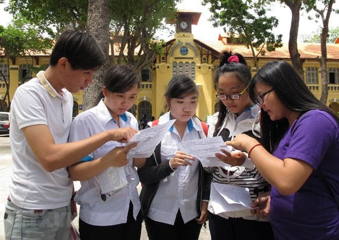 Original data of high school exam in Sơn La deleted