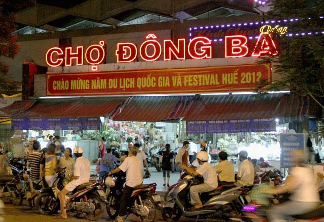 Huế to upgrade famed Đông Ba market