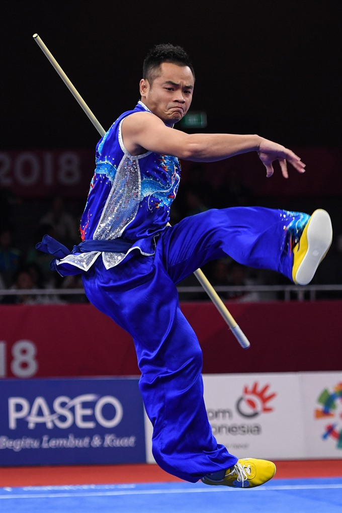 Việt Nam win two medals in wushu in ASIAD